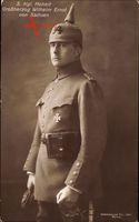 Großherzog Wilhelm Ernst von Sachsen Weimar Eisenach, Feldgrau