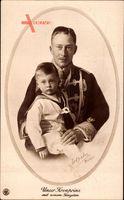 Passepartout Kronprinz Wilhelm von Preussen, Jüngster Sohn, NPG
