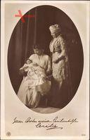 Kronprinzessin Cecilie von Preußen, Kaiserin Auguste Viktoria, NPG 5237