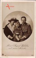 August Wilhelm Prinz von Preussen, Ehefrau Alexandra Viktoria, NPG 5223