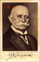 Luftfahrtpionier und Erfinder Ferdinand Graf von Zeppelin, Portrait