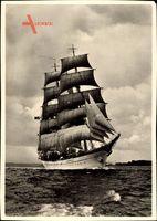 Segelschulschiff Albert Leo Schlageter, Segelschiff, Dreimastbark