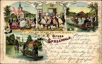 Gruß aus dem Spreewald, Von der Wiege bis zum Grabe, Taufe, Hochzeit