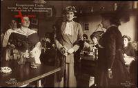 Kronprinzessin Cecilie von Preußen,Heimarbeiterinnen,Schule für Blumenschmuck