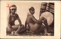 Scènes et Types, Sortie de Bain, Nackte Frauen im Bad, Brüste, Po, Beine