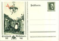 Ganzsachen Erntedankfest, Reichsbauerntag 1937, 6 Pfennig