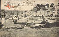 Mallorca Balearische Inseln Spanien, Hafenansicht, Boote, Gebäude, Strand