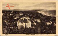Göhren Insel Rügen in der Ostsee, Panoramablick auf die Ortschaft