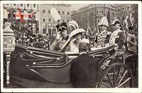Braunschweig, Herzog Ernst August mit Viktoria Luise, 3 November 1913
