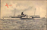 Salonschnelldampfer Najade, Norddeutscher Lloyd Bremen
