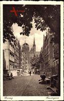 Gdańsk Danzig, Frauengasse, St. Marien Kirche