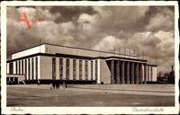 Berlin Charlottenburg, Blick auf die Deutschlandhalle