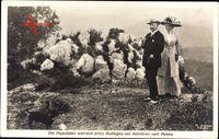 Kaiser Wilhelm II., Kaiserin, Ausflug, Achilleion, Peleka