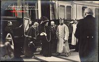 Kaiserin Auguste Viktoria, Herzog von Cumberland, Empfang, Bahnhof, Gmunden