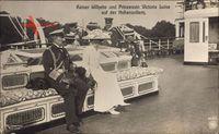 Kaiser Wilhelm II., Victoria Luise, SMY Hohenzollern, NPG 4060