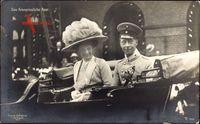 Kronprinzenpaar von Preußen, Wilhelm, Cecilie, Kutsche, 20 Aug. 1910