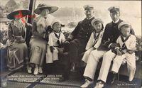 Kaiser Wilhelm II., Prinz Adalbert, Viktoria Luise, Cecilie, Prinzen