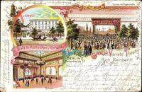 Berlin Kreuzberg, Variété Theater, Rich. Reinhardt, Ballsaal,Hasenheide 57