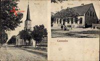 Gennin Gorzów Wielkopolski Landsberg Warthe Ostbrandenburg, Kirche, Schule