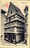 Quedlinburg im Harz, Scharngassen Ecke, Tetzner's Haus