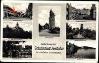 Iserlohn im Märkischen Kreis, Rathausplatz, Bismarckturm, Seilersee