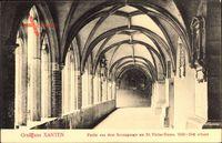 Xanten am Niederrhein, Partie des Kreuzgangs am St. Victor Dom