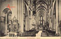 Xanten am Niederrhein, Innenansicht des St. Victor Doms