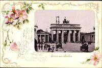 Passepartout Berlin, Das Brandenburger Tor, Pariser Platz, Quadriga