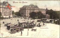 Berlin Tiergarten, Straßenbahnen am Potsdamer Platz