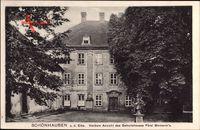 Schönhausen a.d. Elbe, Vordere Ansicht des Geburtshauses Fürst Bismarcks