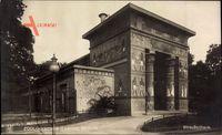 Berlin Charlottenburg, Zoologischer Garten, Das Straußenhaus, NPG