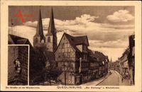 Quedlinburg im Harz, Der Steinweg und Nikolaikirche, Der Schäfer