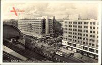 Berlin, Bahnhof Alexanderplatz und neue Hochhäuser