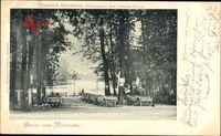 Berlin Zehlendorf Wannsee, Gasthaus Moorlake, Friedrich Braumann