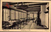 Quedlinburg im Harz, Schlosskrug am Dom, Innenansicht, Restaurant
