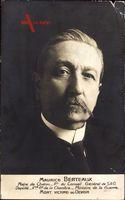 Maurice Berteaux, homme politique français, Portrait