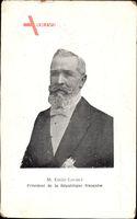 Émile François Loubet, Französischer Staatspräsident, Portrait