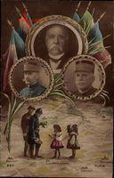 Georges Clemenceau, Maréchal Foch, Maréchal Joffre