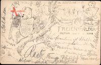 Studentika Berlin, Freienwaldia 1898, Stiftungsfest, Bad Freienwalde Oder