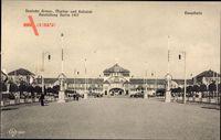 Berlin, Deutsche Armee Marine und Kolonialausstellung 1907, Haupthalle