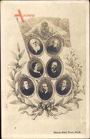 Dom Pedro II., Pedro de Alcântara, Theresa Christina, Conde dEu, Brasilien