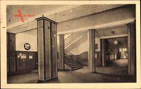 Berlin Steglitz, Augusta Viktoria Schule, Untere Wandelhalle