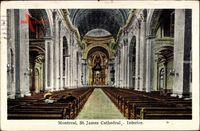 Montreal Québec Kanada, St. James Cathedral, Interior, Gebetsbänke