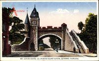 Québec Kanada, St. Louis Gate, La Porte Saint Louis, Straßenbahn