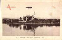 Bizerte Tunesien, Baie Ponty, lAmiraute, Zeppelin, Luftschiff