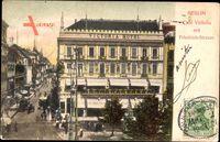 Berlin, Café Victoria mit Blick in die Friedrich Straße