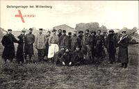 Lutherstadt Wittenberg in Sachsen Anhalt, Gefangenenlager, Franz. Soldaten