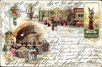 Berlin Friedrichshain, Brauerei Patzenofer, Pferdebahn, Denkmal