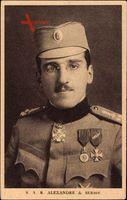 König Alexander I. Karađorđević von Serbien, Portrait, Jugoslawien