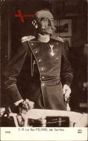 König Peter I. Karadjordjevic von Jugoslawien, Serbien, Portrait